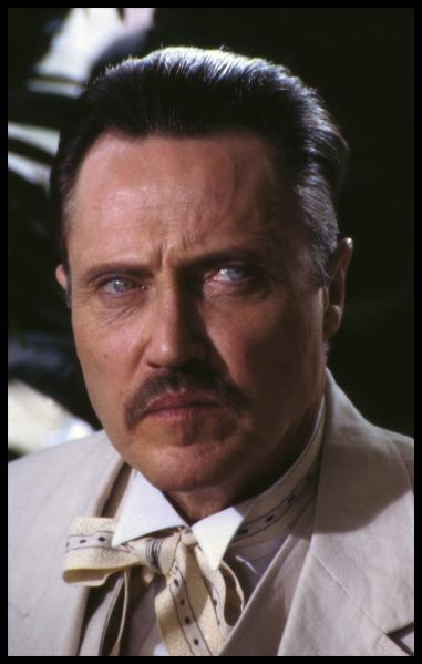 CHRISTOPHER WALKEN in VENDETTA  ©hbo.all rights reserved