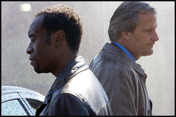 Don Cheadle and Jeff Daniels in the upcoming film TRAITOR.